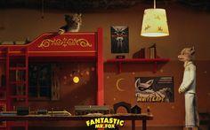 Fantastic mr. Fox   Fantastic Mr. Fox - Ash And Kristofferson - Bed Time -1440x900 ...