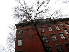 The brick façade of Emerson's loft had been maintained in its original nineteenth-century aesthetic, but inside was another story....