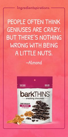 Did people think we were crazy when we crushed up perfectly good chocolate? #absobarkinlutely