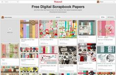 Where to Find Free Digital Scrapbook Paper! {Free Digital Scrapbooking Series- Part 3!} - MomOf6