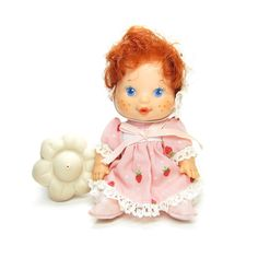 Strawberry Shortcake Berry Baby doll with bottle