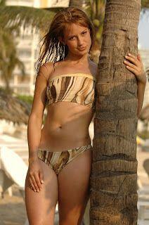 Supermodel Beach & Bikini House: Altair Jarabo
