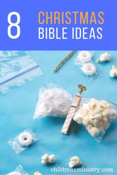Snacks, crafts, games and more with Bible lessons!