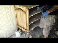 Painting Shabby Chic Furniture: Start to Finish - Part 13 - YouTube