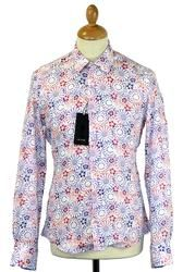 Floral Linen 1 LIKE NO OTHER Gradient Flower Shirt