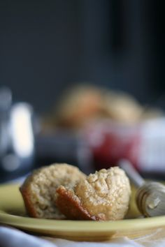 The Best of this Life: Gluten-Free Oatmeal Honey Muffins #glutenfree #dairyfree #localhoney