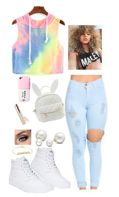 """""""Summer ☀️"""" by nj-foundation on Polyvore featuring Vans, cutekawaii and Allurez"""