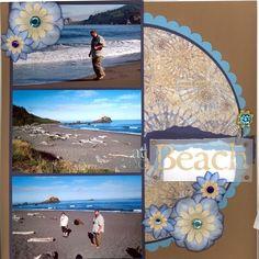 Beach for coast....make a 2 page spread