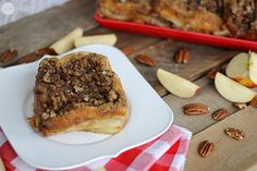 Apple Pie French Toast - A Great Holiday Breakfast Idea! - One Good Thing by Jillee