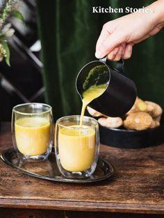Wie du den besten Ingwertee kochst und warum Ingwer so gesund ist How to cook the best ginger tea Smoothie Drinks, Detox Drinks, Healthy Smoothies, Smoothie Recipes, Smoothie Detox, Healthy Drinks, Tea Recipes, Apple Recipes, Healthy Recipes