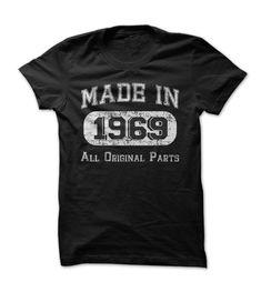 Born in 1969?... #Aged #Tshirt #year
