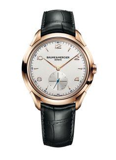 Baume & Mercier's new Clifton men's collection