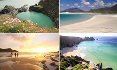 Caribbean? Maldives? No, it's Britain: These beautiful turquoise waters and idyllic coastlines might look like a tropical paradise but they are in fact the UK's hidden beaches