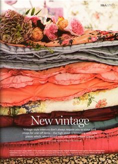 """More """"New Vintage"""" ( I can't get over that oxymoronish phrase). Pretty though."""