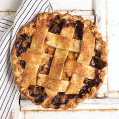 Salted Caramel Apple Pie | SAVEUR