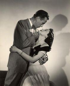 Humphrey Bogart and Ava Gardner, The Barefoot Contessa (1954).
