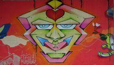 Graffitti an der Rheinbrücke, Foto: S. Hopp