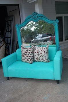 upcycled ikea sofa visit us  @HTTP://www.facebook.com/UptownFleaMarket?ref=hl