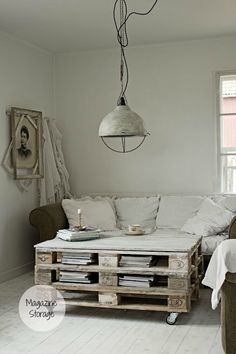 table from palettes