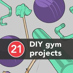 Here is a list of 21 Do It Yourself projects to create your own gym equipment at home. And they're easy to make too.