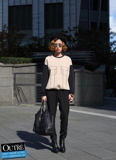 At Seoul Fashion Week… An Min Young