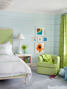Cool Bedrooms - House Beautiful