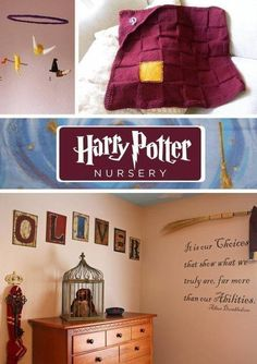 HP Nursery. ♥ this is so going to be my kids nursrey