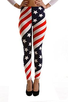 f7ee0a24cd90f4 Only your wallet will know these are not LulaRoe Leggings Seasonal Summer Printed  Leggings (US Flag Print): VIV Collection Women Stripe Tribal Aztec Navajo  ...