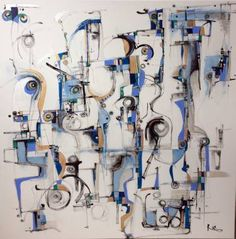 """Saatchi Art Artist Ric Grossman; Painting, """"We See With Our Soul"""" #art"""