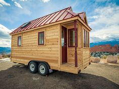 Cypress Design by Tumbleweed Tiny House Co. Can buy  plans for self build or buy complete from 18' to 24' options. First floor great room with bedroom, kitchen, bath, and 2nd floor sleeping loft and storage loft. Multiple combos of bedrooms and loft space. Built w or w/o dormers. Manufacturer is nationally certified RV manufacturer and has conventional RV hookups.Requires no special permit to tow.Full electric system w/30A plug and propane tanks.
