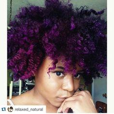 Purple hair don't care