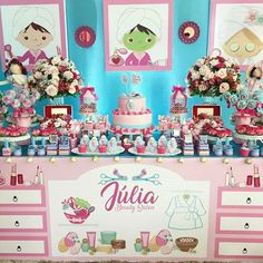 101 fiestas: Fiesta temática spa Spa Party Decorations, Party Themes, Spa Shower, Shower Party, Kids Pamper Party, Mini Spa, Spa Birthday Parties, Party Makeup, Spa Day