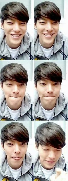 Wow, Kim Woo Bin<3<3<3<3<3 Does Korea really have nothing but attractive men, one more attractive then the next? Oh what a silly question of course:)