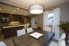 Vital kitchen had a U-shaped design that cut off half the room. After our home renovation, the kitchen doubled in size and usable space Kitchen Renovations, Home Renovation, Construction, Table, Room, Furniture, Design, Home Decor, Building