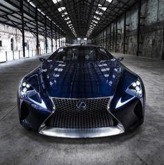 Lexus LF-LC Blue Opal Concept in Sydney Auto Show