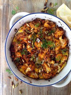Crispy Garlic Roasted Cauliflower Recipe