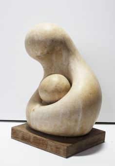 Your place to buy and sell all things handmade Stone Sculpture, Modern Sculpture, Sculpture Clay, Family Sculpture, Asian Sculptures, Modern Cakes, Barbara Hepworth, Mortar And Pestle, Photo Craft