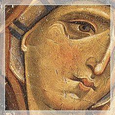 Giunta Pisano (Giunta Capitini, detto) - La Vergine del Crocifisso di Assisi - c. 1240 - tempera e oro su tavola - Museo di Santa Maria degli Angeli , Assisi