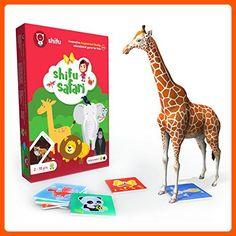 Shifu Safari 60 Animal Cards Educational Game For Kids. Gifts For Toddler, Boys & Girls Of Age 2 & Up. Preschool Learning Toys, Stem Learning, Educational Games For Kids, Learning Games, Activities For Kids, Caterpillar Preschool, Toys For Little Kids, Kids Toys, Safari