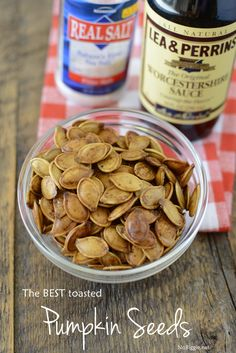 The BEST Roasted Pumpkin Seeds! Dont toss them. The BEST Roasted Pumpkin Seeds! Dont toss them outroast them! With the cooler weather setting in and the colorful le The BEST Roasted Pumpkin Seeds! Dont toss them outroast them! With the cooler weather s Roast Pumpkin, Pumpkin Bread, Pumpkin Dishes, Fall Recipes, Dog Food Recipes, Snacks Recipes, Keto Recipes, Savory Pumpkin Recipes, Spinach Recipes
