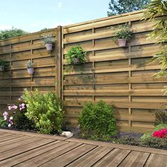 Panneau bois occultant, x cm, naturel Diy Backyard Fence, Diy Privacy Fence, Privacy Fence Designs, Privacy Screen Outdoor, Diy Fence, Fence Landscaping, Privacy Wall On Deck, Privacy Hedge, Fence Ideas