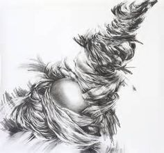 "Abstract Graphite Drawings ""drawing has always been my"