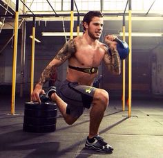 Tyler Seguin working out