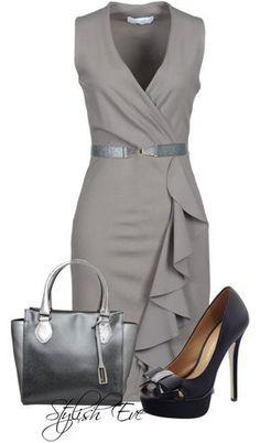 El gris lo puedes llevar como quieras... Dependiendo de la ocasión... Oficina, casual o noche...
