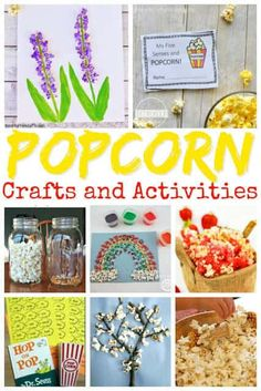 National Popcorn Day crafts, activities, books, and more to celebrate at home, preschool center, homeschool, or family fun on January 19. These popcorn activities for kids are great for toddler, preschool, kindergarten, first grade, 2nd grade, 3rd grade, and 4th grade students. #popcorn #funholiday #januaryholidays #januarythmes #kidsactivities #craftsforkids