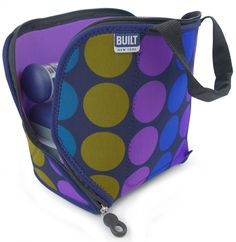 Byo Built Rambler Neoprene Washable Insulated Lunch Bag Soft Cooler Posh Leopard