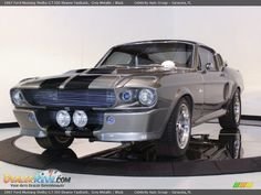 Front 3/4 View of 1967 Ford Mustang Shelby G.T.500 Eleanor Fastback Photo #3