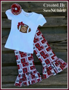 Team Spirit Outfit by SewNChick on Etsy