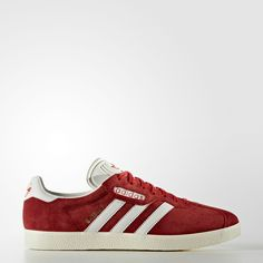 sports shoes 13896 43c6f New Super Gazelles in RedVintage White
