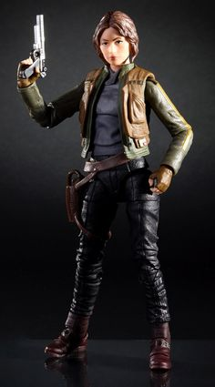 """Official 6"""" Star Wars Black Series Rogue One Sergeant Jyn Erso Figure Images #StarWars"""